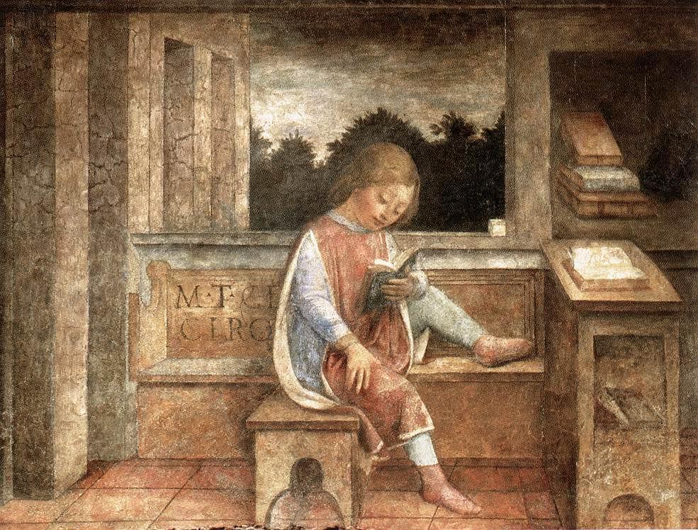 失乐园——阅读中的小西塞罗