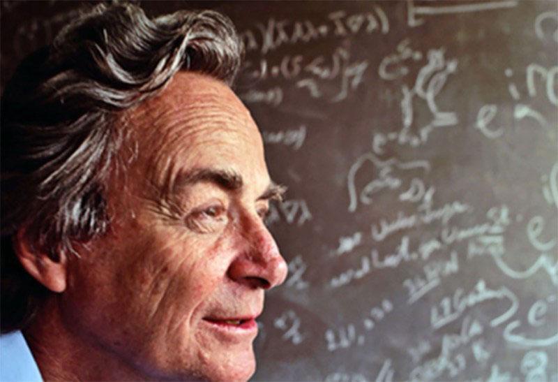 诺贝尔奖获得者、物理学家理查德·费曼