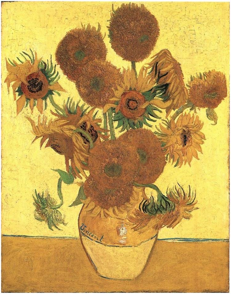 sunflower_Vincent Willem van Gogh